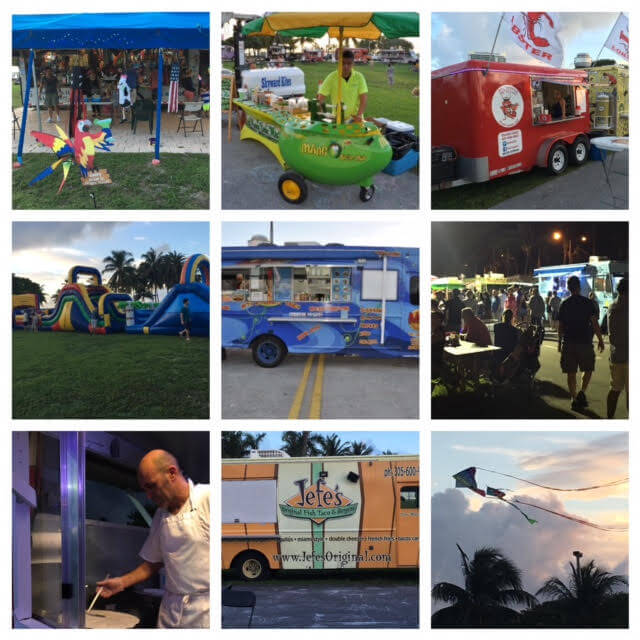 Food Trucks Miami Tuesday Night