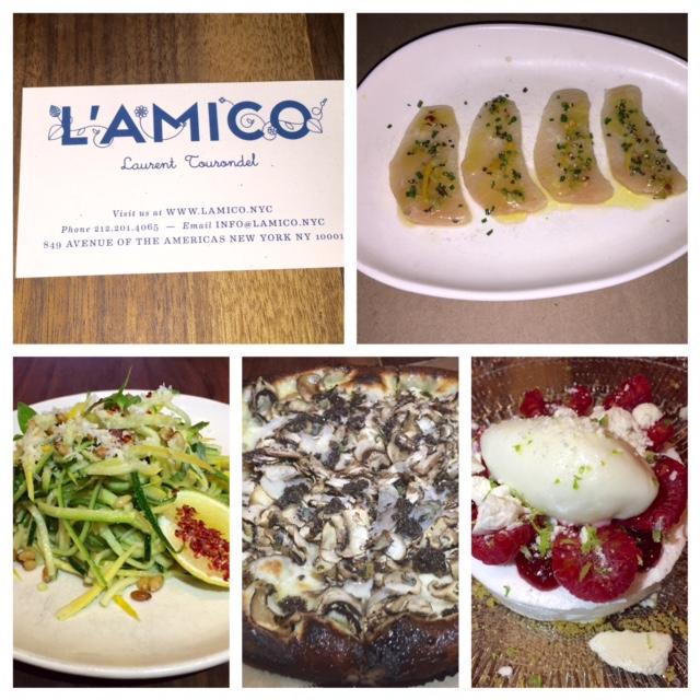 L'Amico Restaurant New York SHANEA SAVOURS TOR MIA NYC